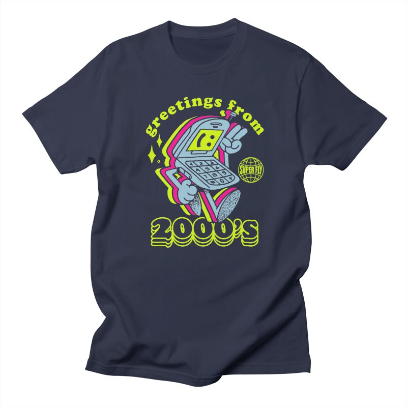 2000's Men's T-Shirt by ZRO30