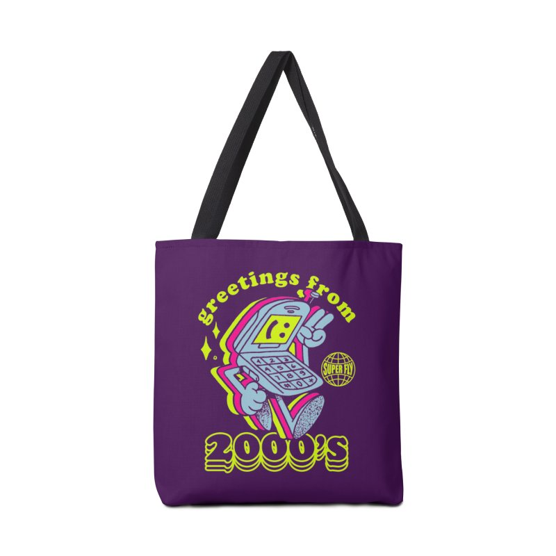 2000's Accessories Tote Bag Bag by ZRO30
