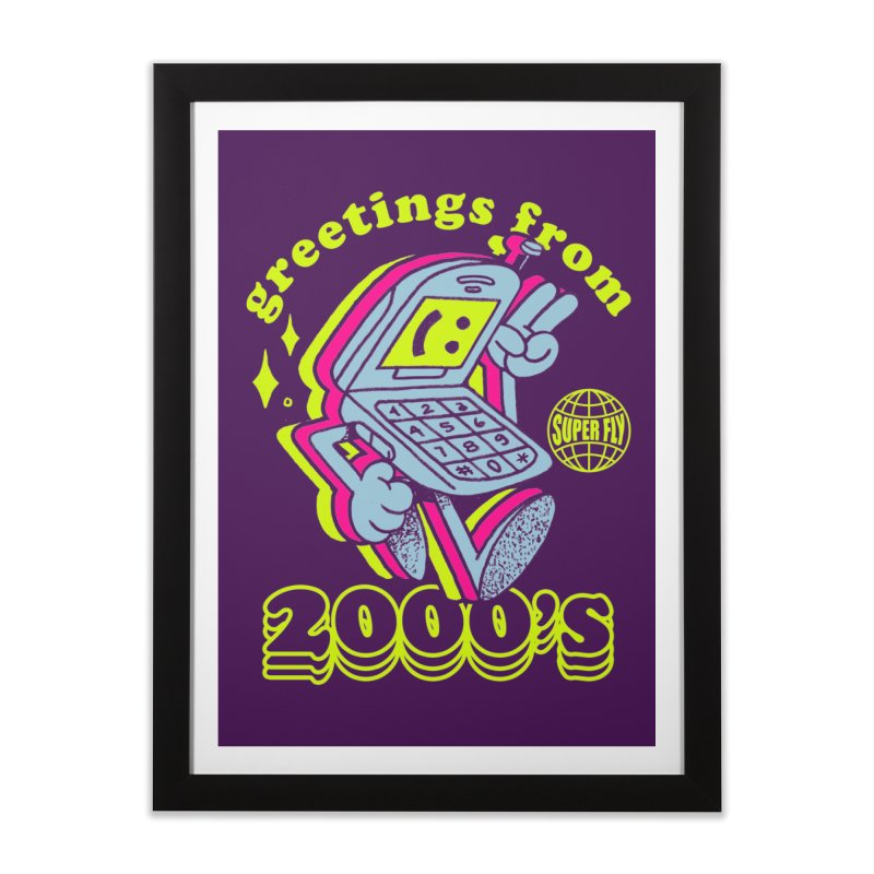2000's Home Framed Fine Art Print by ZRO30