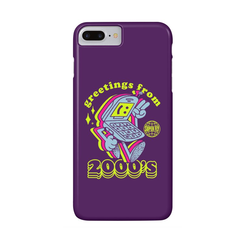 2000's in iPhone 7 Plus Phone Case Slim by ZRO30
