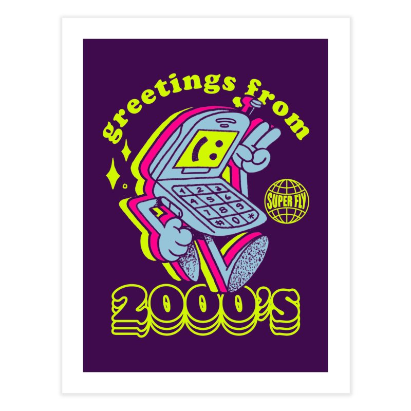 2000's Home Fine Art Print by ZRO30