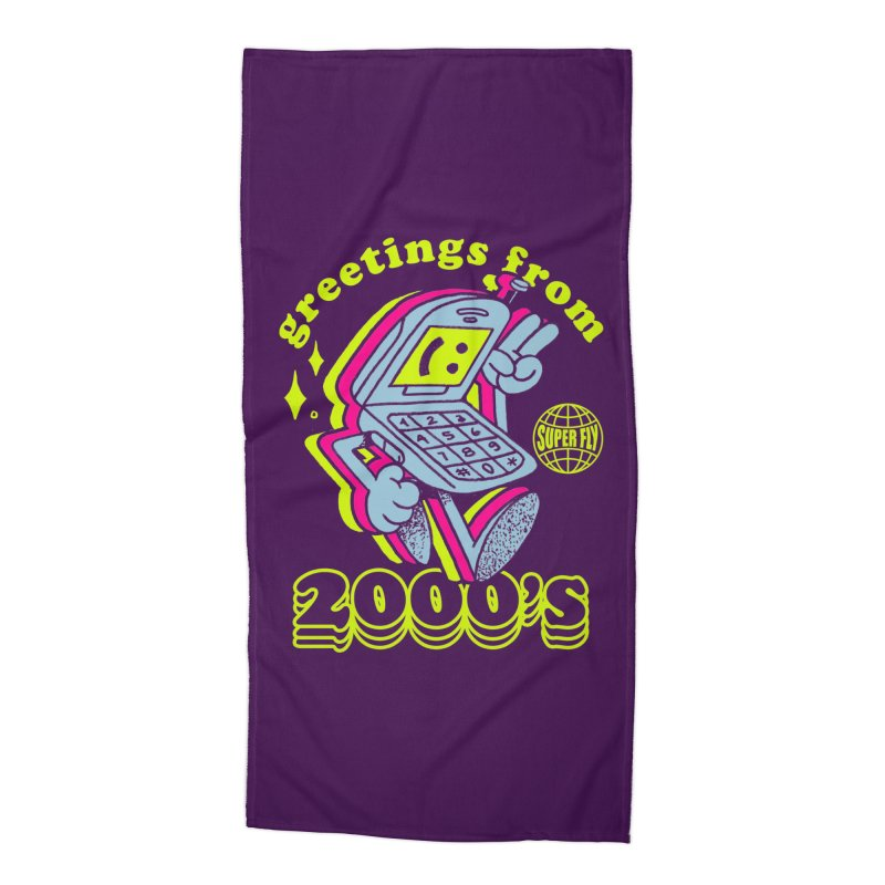 2000's Accessories Beach Towel by ZRO30