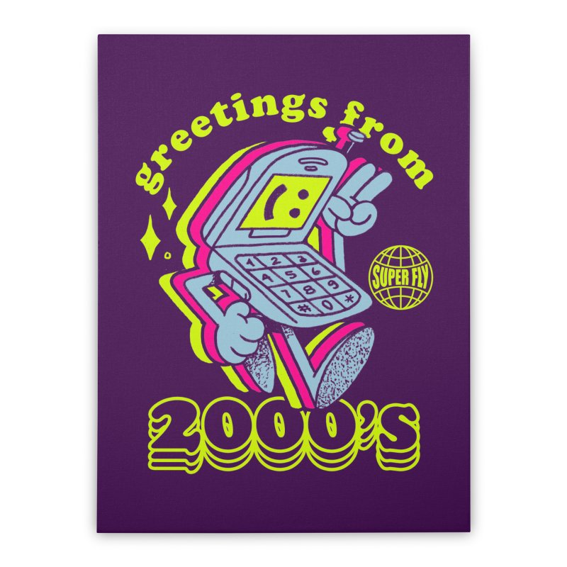 2000's Home Stretched Canvas by ZRO30