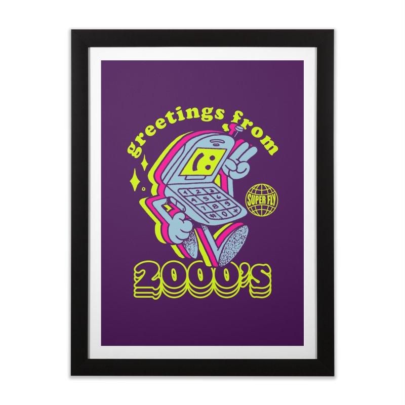 2000's Home Framed Fine Art Print by ZRO30