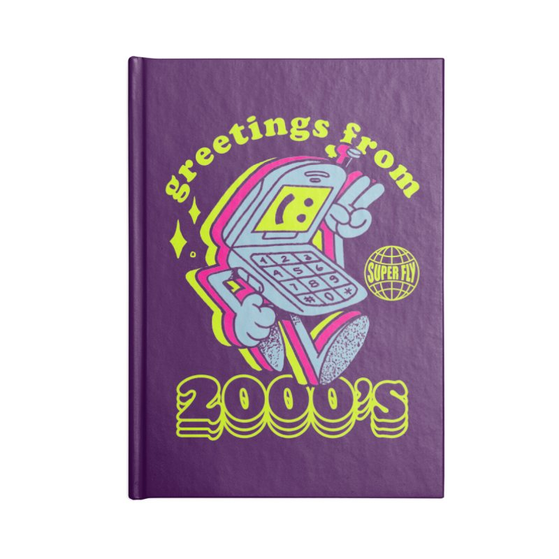 2000's Accessories Lined Journal Notebook by ZRO30