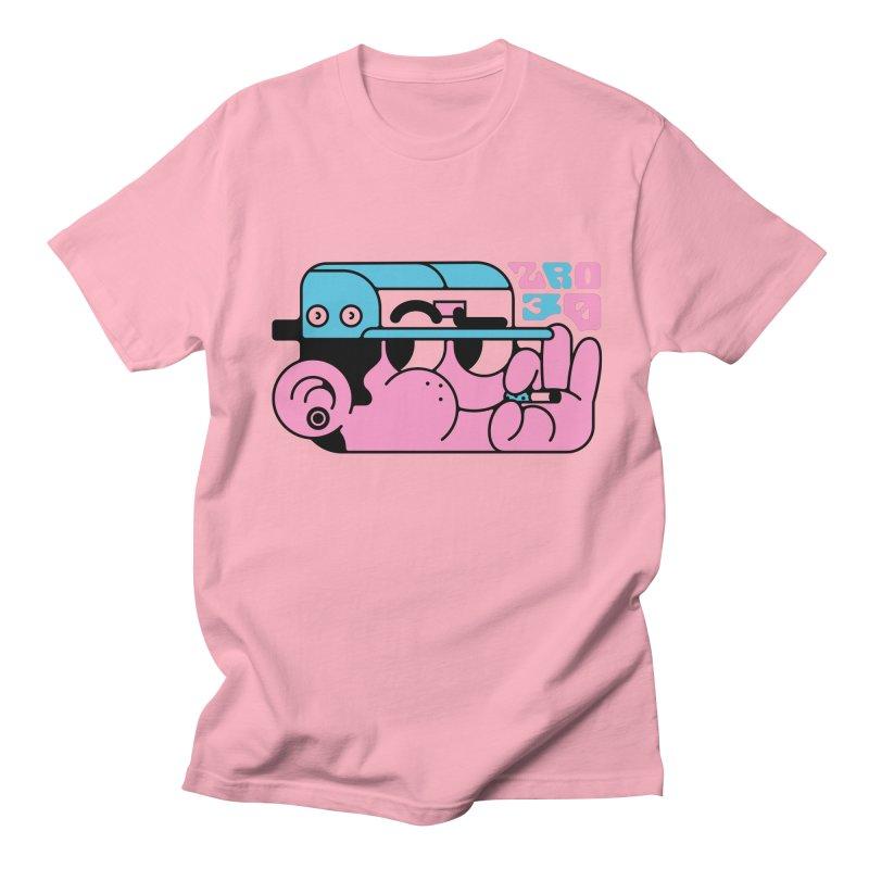 Happu face Men's T-shirt by ZRO30