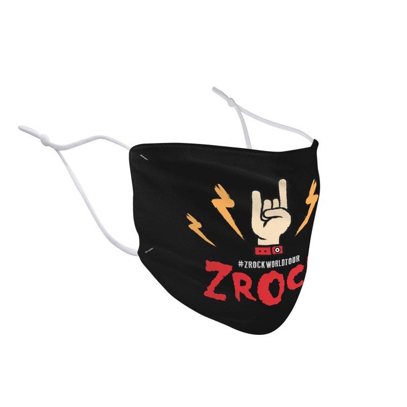 #ZRockWorldTour Accessories Face Mask by ZRock Shop