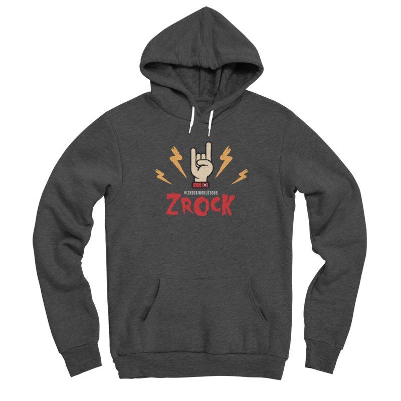 #ZRockWorldTour Men's Pullover Hoody by ZRock Shop