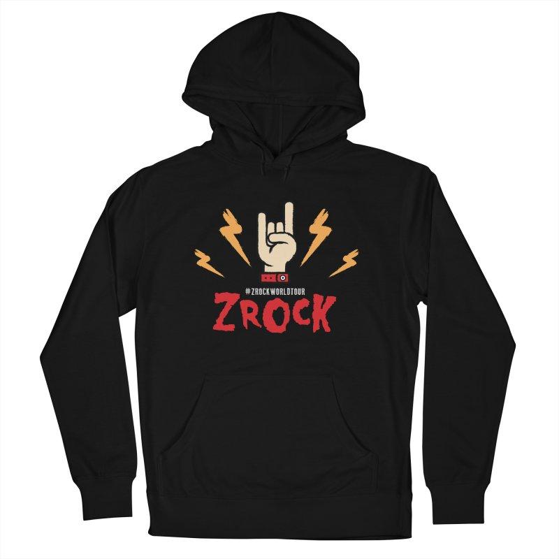 #ZRockWorldTour Men's French Terry Pullover Hoody by ZRock Shop