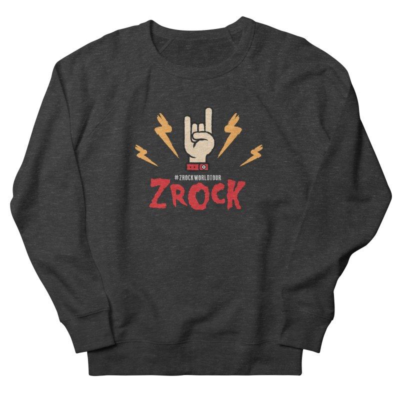 #ZRockWorldTour Men's French Terry Sweatshirt by ZRock Shop