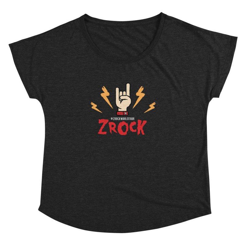 #ZRockWorldTour Women's Dolman Scoop Neck by ZRock Shop