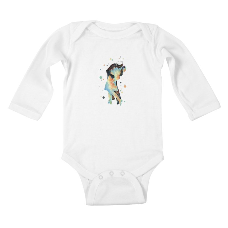 The Kiss Kids Baby Longsleeve Bodysuit by ZulfikriMokoagow shop