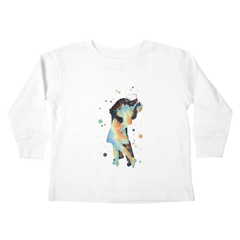 The Kiss Kids Toddler Longsleeve T-Shirt by ZulfikriMokoagow shop