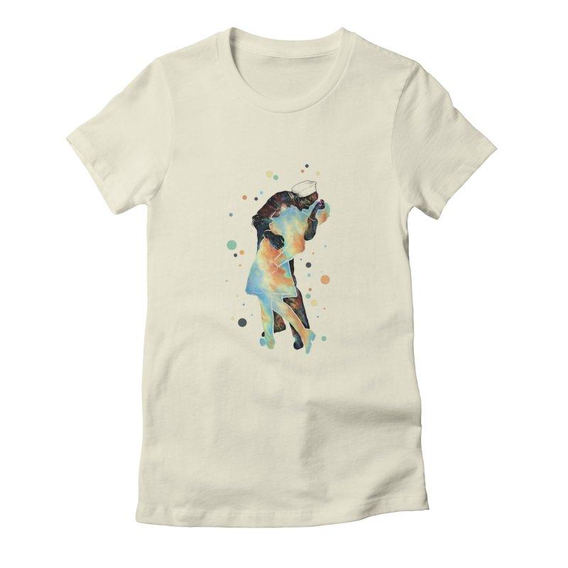 The Kiss Women's Fitted T-Shirt by ZulfikriMokoagow shop