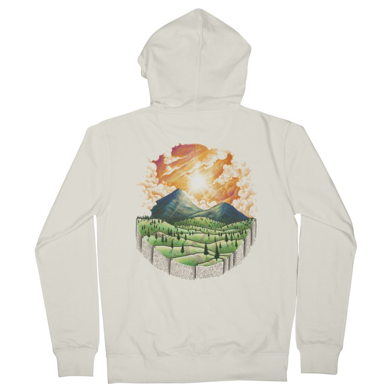 Over the sunset Men's Zip-Up Hoody by ZulfikriMokoagow shop