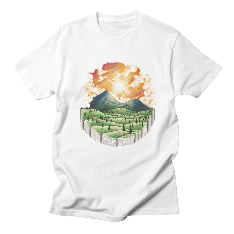 Over the sunset Men's T-shirt by ZulfikriMokoagow shop