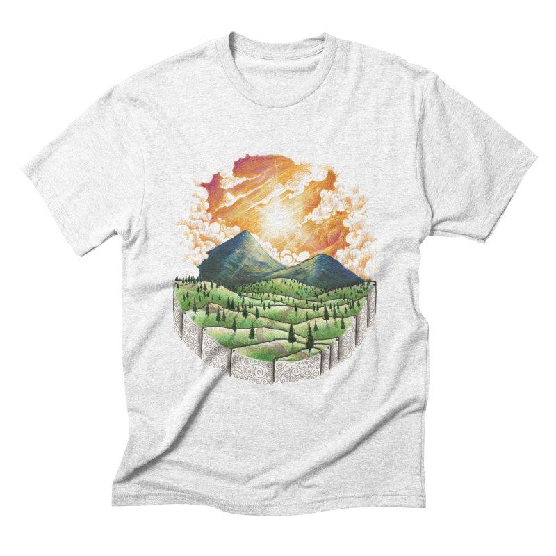 Over the sunset Men's Triblend T-shirt by ZulfikriMokoagow shop