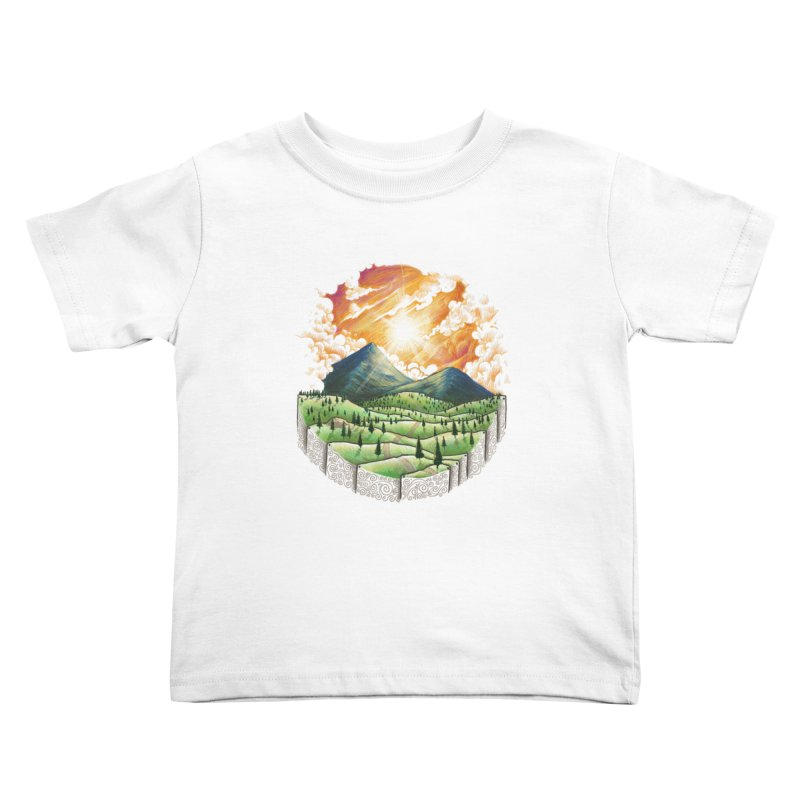 Over the sunset Kids Toddler T-Shirt by ZulfikriMokoagow shop