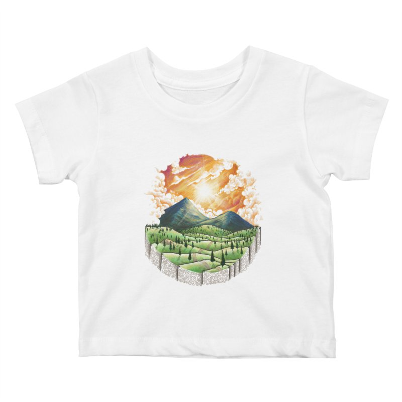 Over the sunset Kids Baby T-Shirt by ZulfikriMokoagow shop