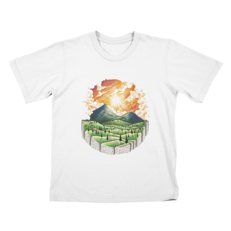 Over the sunset Kids T-shirt by ZulfikriMokoagow shop