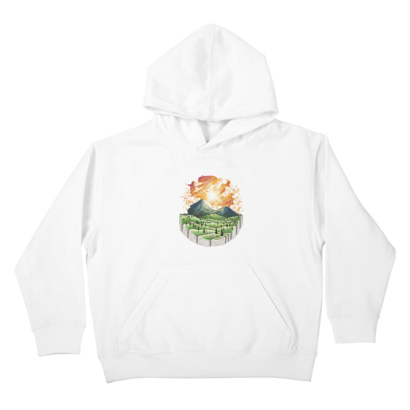 Over the sunset Kids Pullover Hoody by ZulfikriMokoagow shop