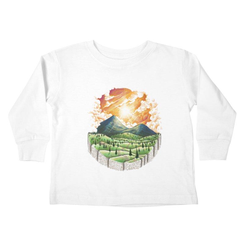 Over the sunset Kids Toddler Longsleeve T-Shirt by ZulfikriMokoagow shop