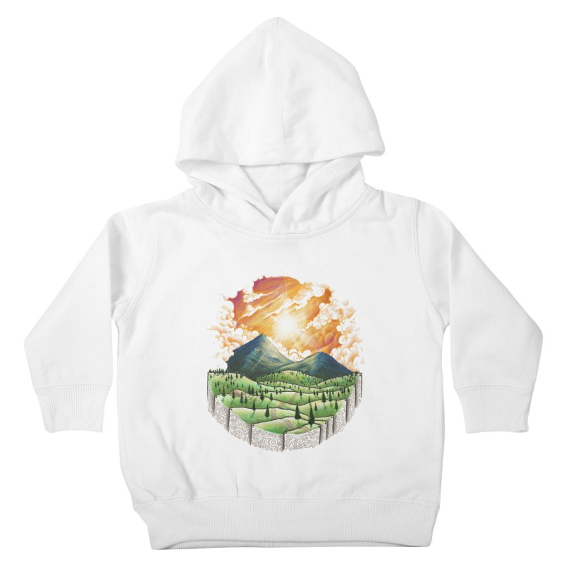 Over the sunset Kids Toddler Pullover Hoody by ZulfikriMokoagow shop