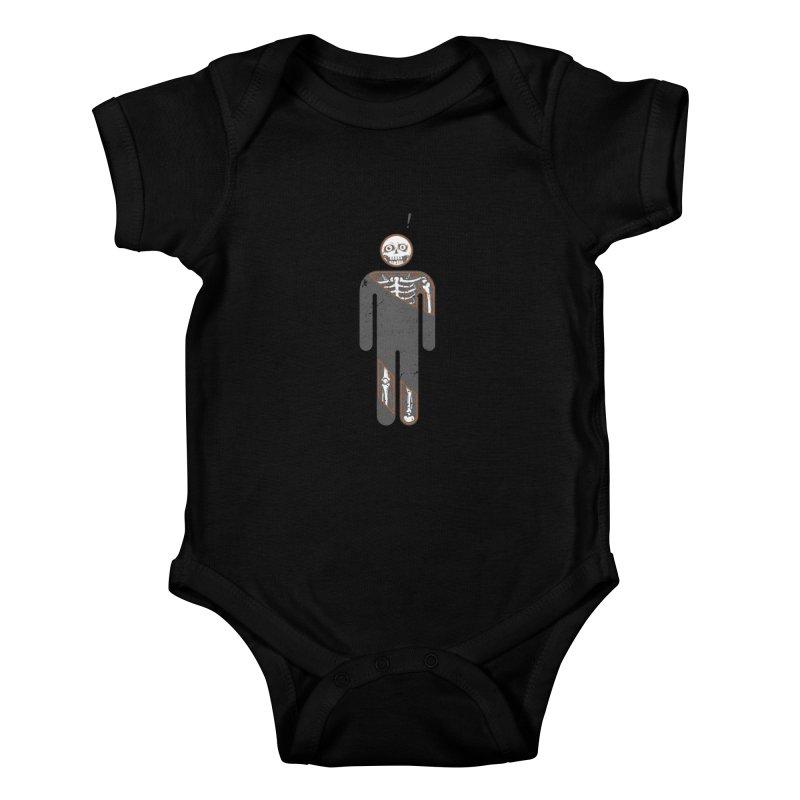 Anatomy of Icon Kids Baby Bodysuit by ZulfikriMokoagow shop
