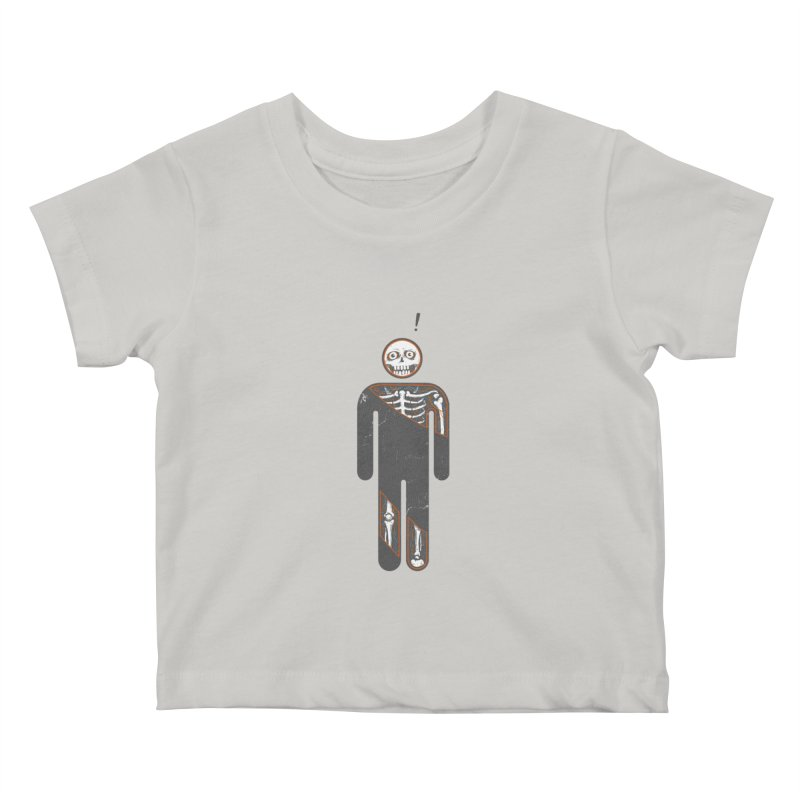 Anatomy of Icon Kids Baby T-Shirt by ZulfikriMokoagow shop
