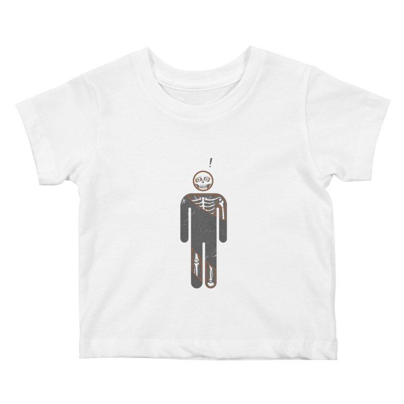Anatomy of Icon Kids Baby T-Shirt by ZulfikriMokoagow shop