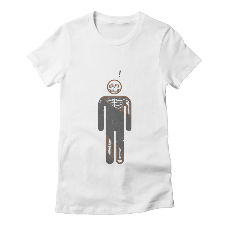 Anatomy of Icon Women's Fitted T-Shirt by ZulfikriMokoagow shop