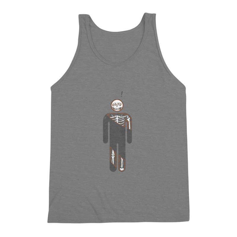 Anatomy of Icon Men's Triblend Tank by ZulfikriMokoagow shop