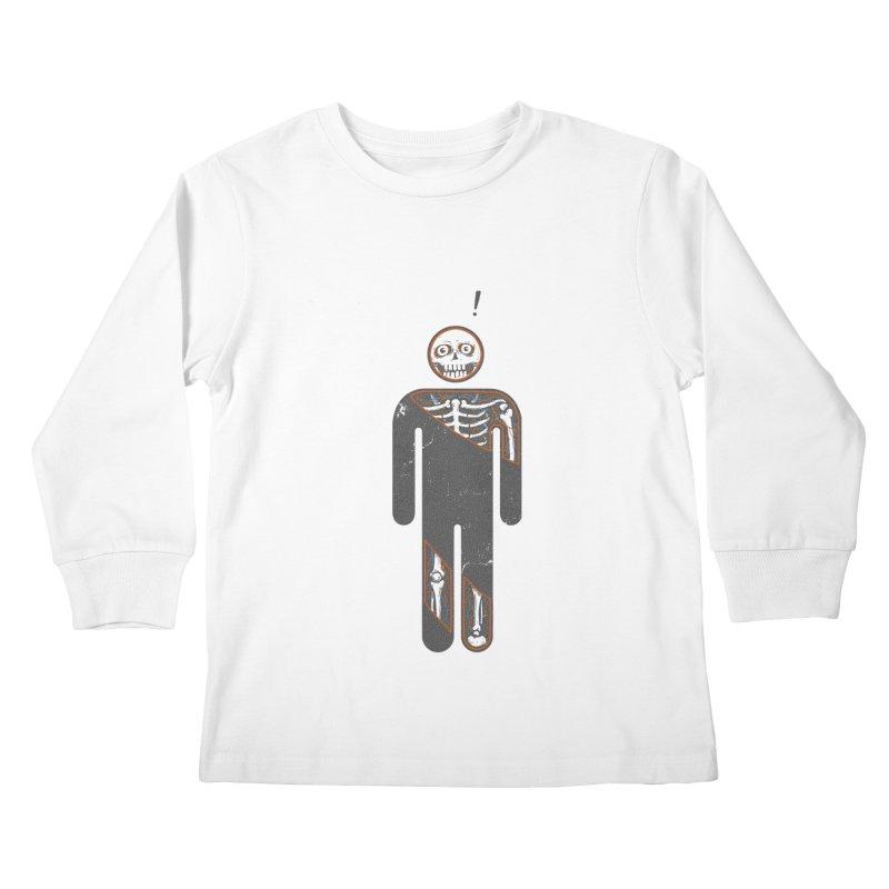 Anatomy of Icon Kids Longsleeve T-Shirt by ZulfikriMokoagow shop