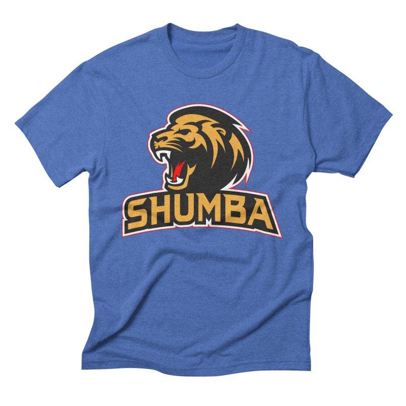 Shumba in Men's Triblend T-shirt Blue Triblend by Zulu Faz Merch Shop