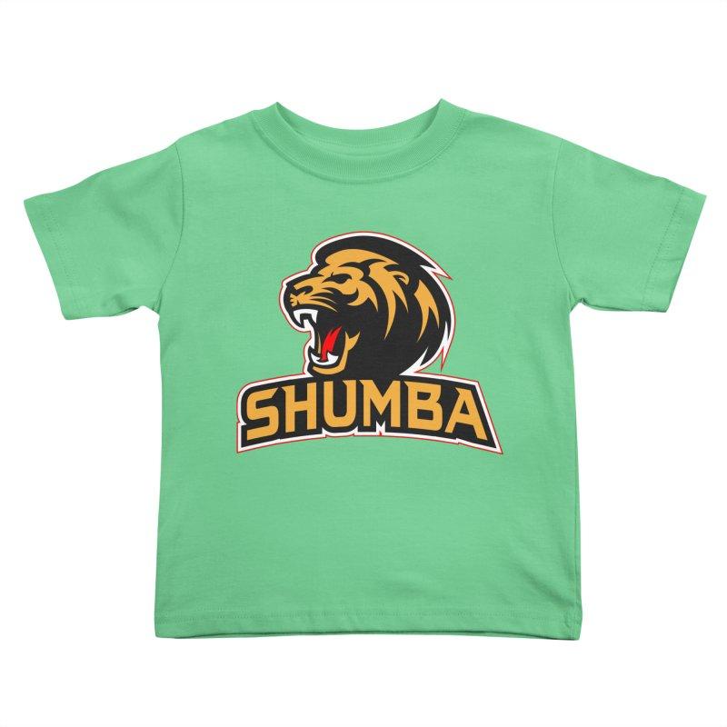 Shumba in Kids Toddler T-Shirt Grass by Zulu Faz Merch Shop