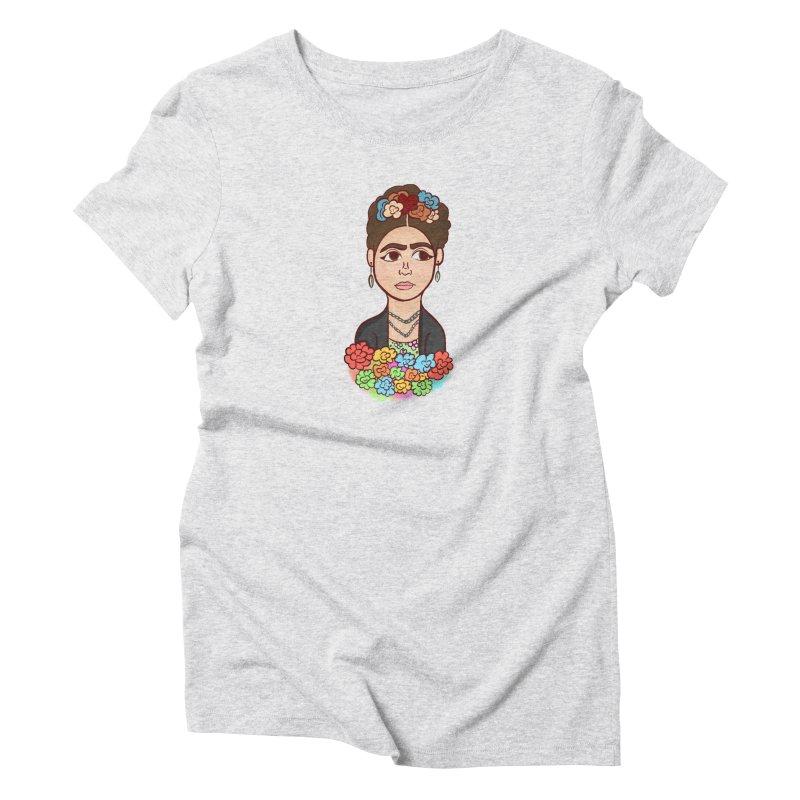 Frida K Women's T-Shirt by ZuniReds's Artist Shop