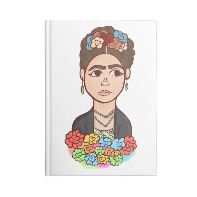 Frida K Accessories Notebook by ZuniReds's Artist Shop