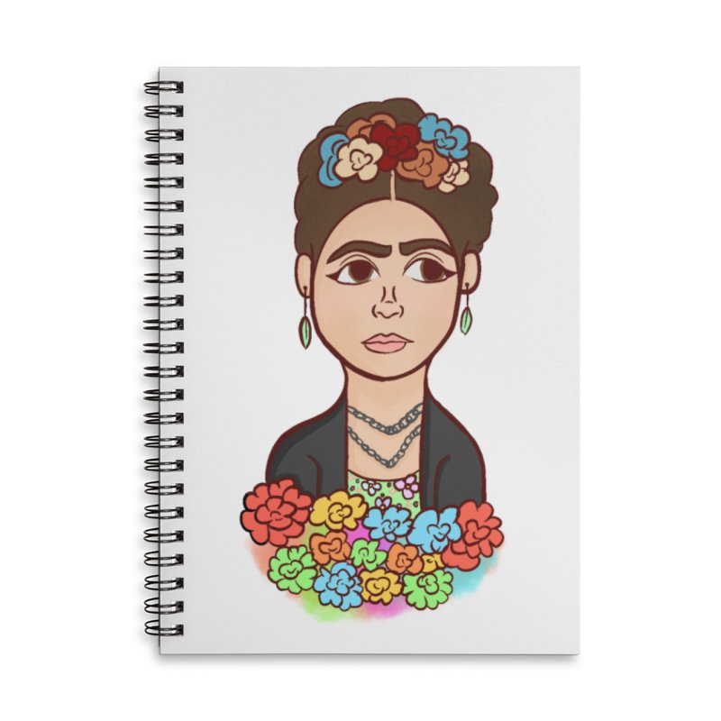 Frida K Accessories Notebook by ZuniReds's Artist Shop