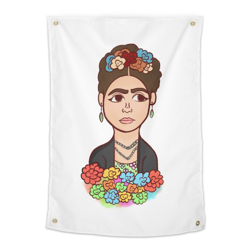 Frida K Home Tapestry by ZuniReds's Artist Shop