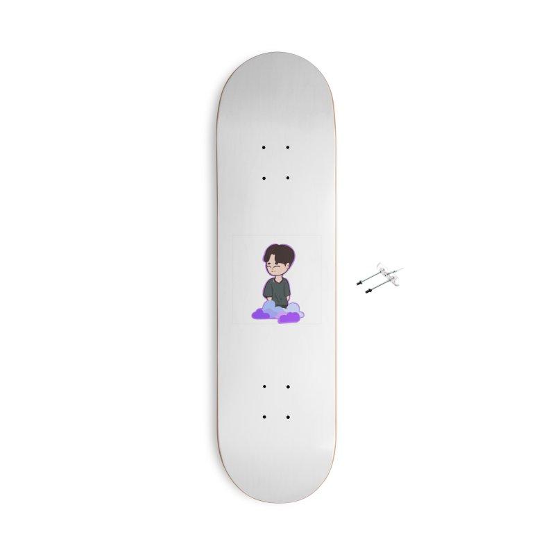BTS boy Accessories Skateboard by ZuniReds's Artist Shop