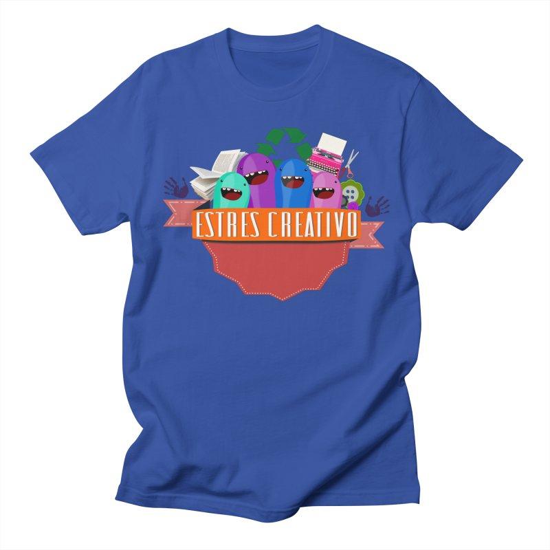Estrés Creativo Women's Regular Unisex T-Shirt by ZuniReds's Artist Shop