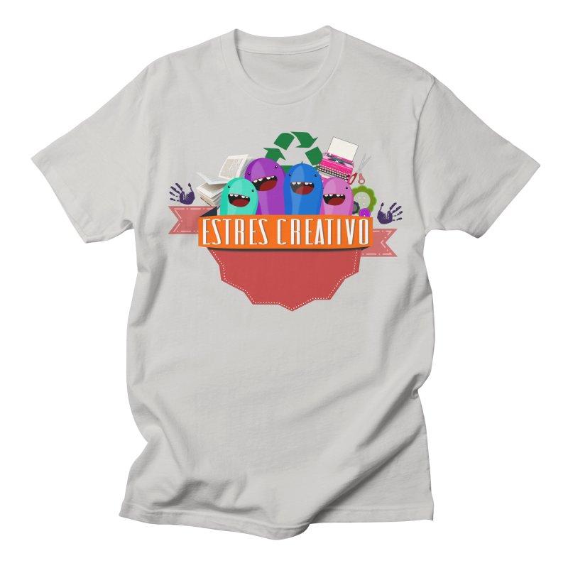Estrés Creativo Men's T-Shirt by ZuniReds's Artist Shop