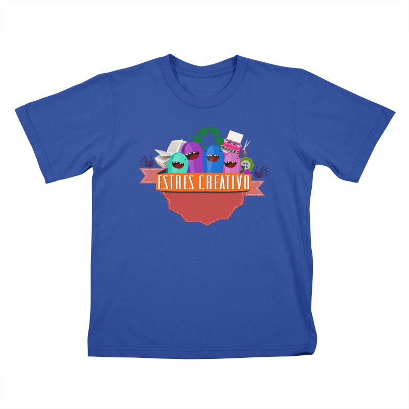 Estrés Creativo Kids T-Shirt by ZuniReds's Artist Shop