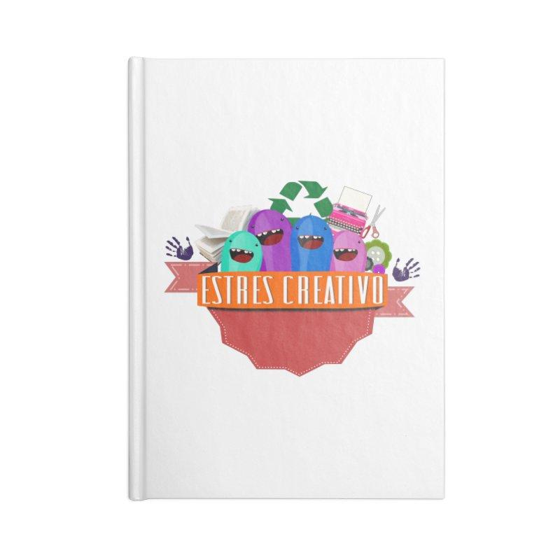 Estrés Creativo Accessories Blank Journal Notebook by ZuniReds's Artist Shop