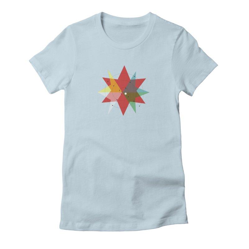 Star Women's Fitted T-Shirt by ZuniReds's Artist Shop