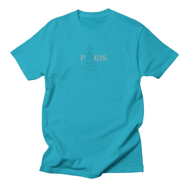 Paris Women's Regular Unisex T-Shirt by ZuniReds's Artist Shop