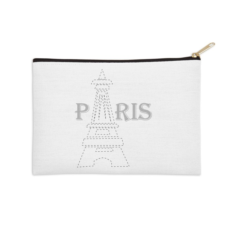 Paris Accessories Zip Pouch by ZuniReds's Artist Shop