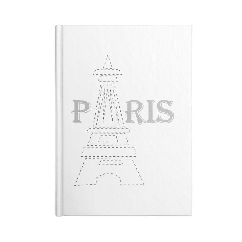 Paris Accessories Blank Journal Notebook by ZuniReds's Artist Shop