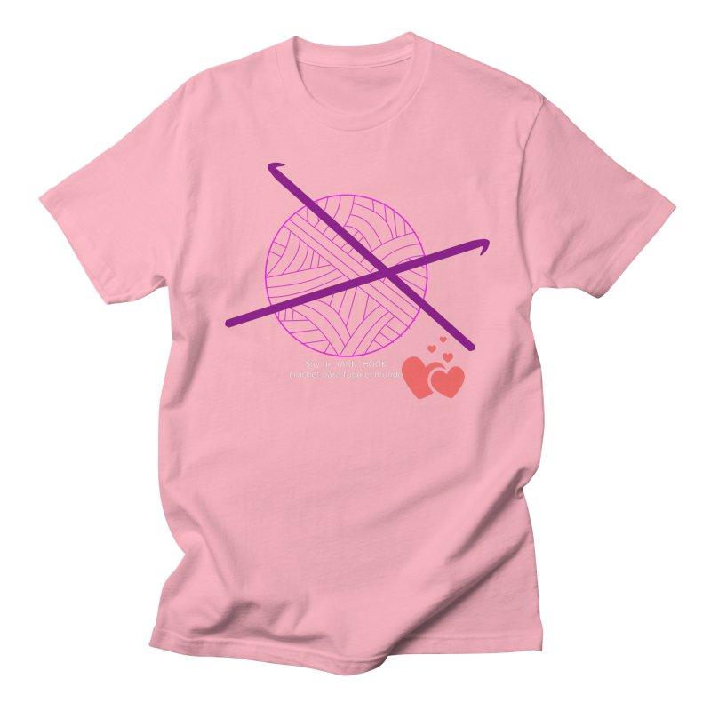 Crochet Creativo Women's Regular Unisex T-Shirt by ZuniReds's Artist Shop