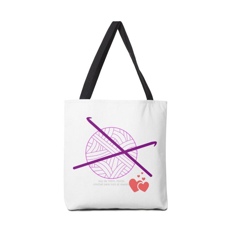 Crochet Creativo Accessories Tote Bag Bag by ZuniReds's Artist Shop